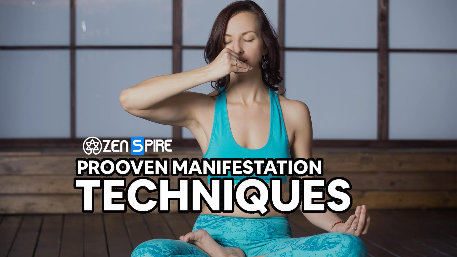 Manifestation Techniques by Zenspiree